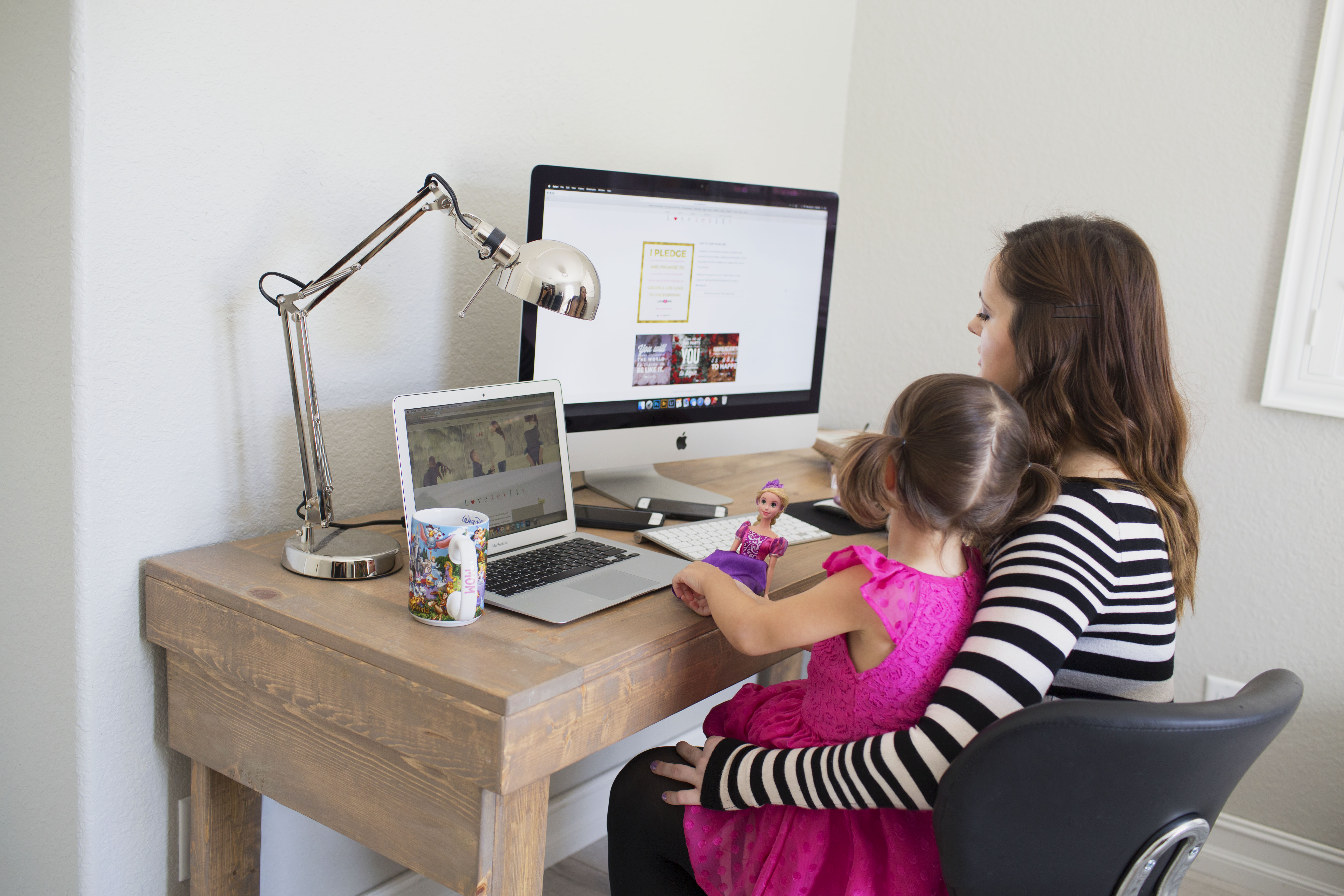 Work from home moms are the best CEO's.